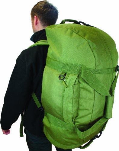 Highlander, Borsa da viaggio, Verde (olivgrün), Taglia unica