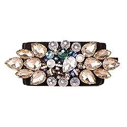 Exquisite Crystal Mosaic Elastic Waist Belt