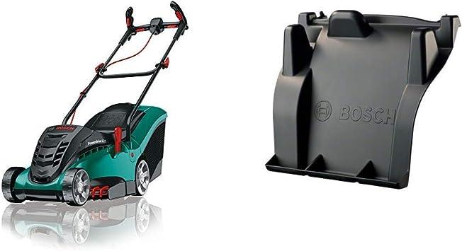 Bosch Home and Garden 06008A4409 Cortacésped con batería de Litio, 36 W, 36 V, Negro, Verde, 37 cm + Accesorio para mantillo MultiMunch 34/37: Amazon.es: Bricolaje y herramientas