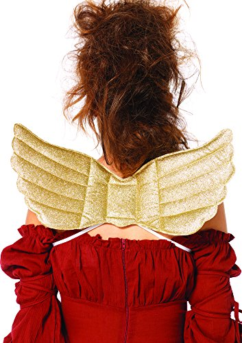 [Leg Avenue Women's Mystical Golden Wings Costume Accessory, Gold, One Size] (Golden Wings For Women)