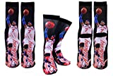 Forever Fanatics New York Carmelo Anthony #7 Basketball Crew Socks Sizes 6-13 ✓ Ultimate Basketball Fan Gift (Size 6-13, Anthony #7)