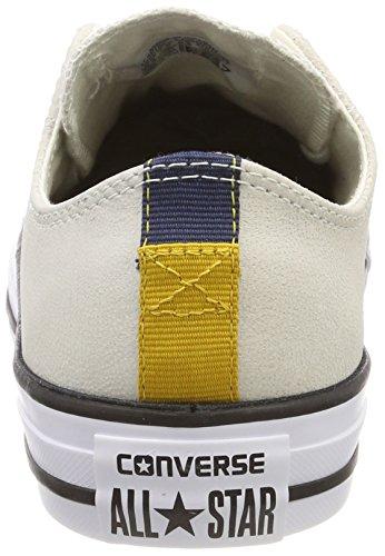 Converse Unisex-Erwachsene CTAS Ox Sneaker Beige (egret/Black/White)