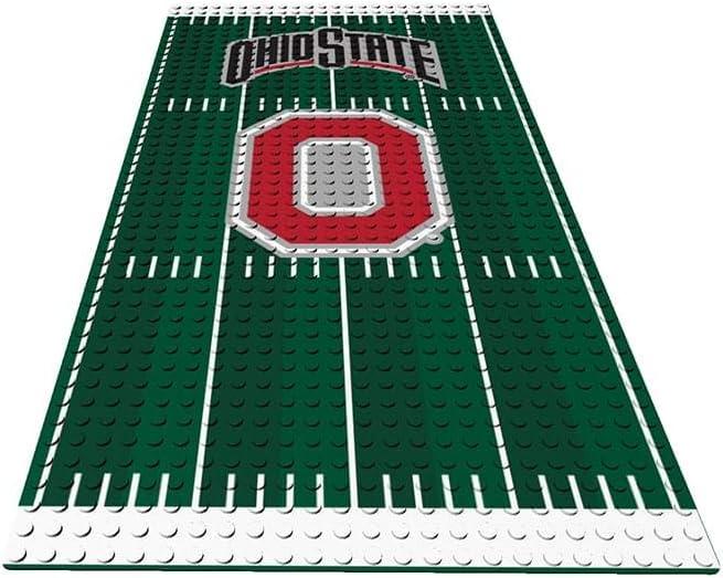 NCAA Ohio State Buckeyes Display Plate Minifigure Black Small