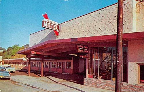 Eureka California Walt's Steak House Exterior Vintage Postcard JB626567