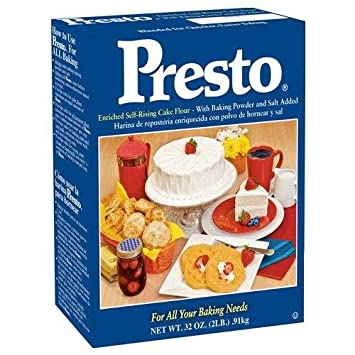 Presto Self Rising Cake Flour, 32-Ounce Box