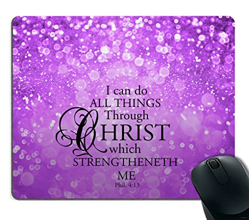 custom bible verse purple sparkles