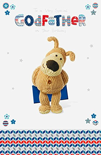 Boofle Godfather Happy Birthday Greeting Card Cute Range Greetings Cards