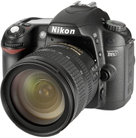 Nikon D80 Slr Digitalkamera Kit Inkl 18 70mm Kamera