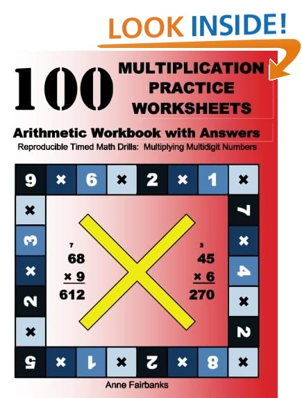 Multiplication Practice: Amazon.com