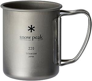 snow peakチタンシングルマグ