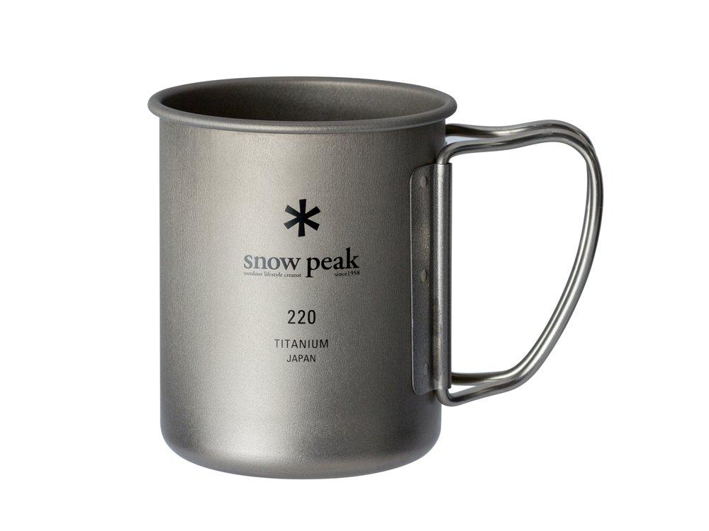 スノーピーク(snow peak) チタンシングルマグ