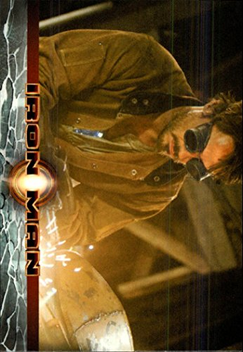 Using Metal (2008 Iron Man Movie #15 Using scraps of metal as well as bits and pieces… - NM-MT)