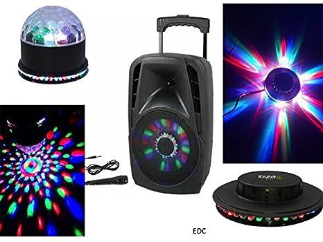 Sono portátil 300 W altavoz con LED integrados Micro con cable USB ...