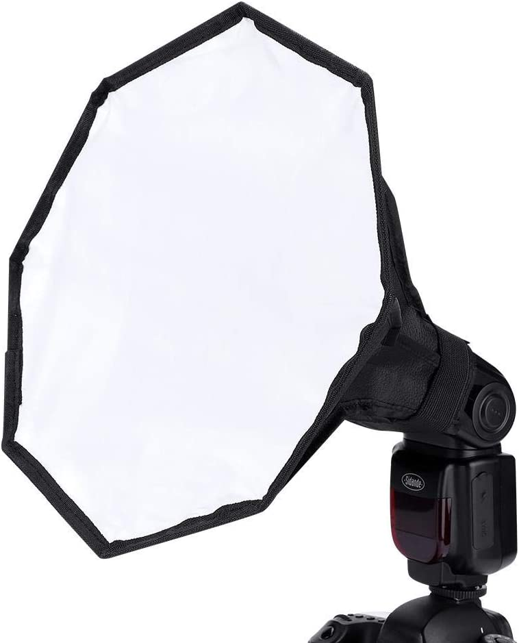 30cm Portable Universal Flashlight Softbox Diffuser with Detachable Design for Digital Camera External Speedlite Tangxi Diffuser Softbox