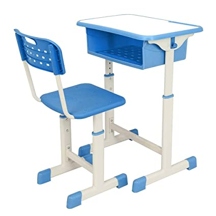 Amazon.com: Mara School Custom Single Double ABS Plastic Desks And Chairs  Student Casing Desk And Chair Counseling: Kitchen U0026 Dining