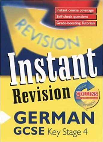 Instant Revision - GCSE German: Instant Revision Cards (Collins Study & Revision Guides)