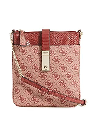 GUESS Nissana Mini Crossbody Top Zip