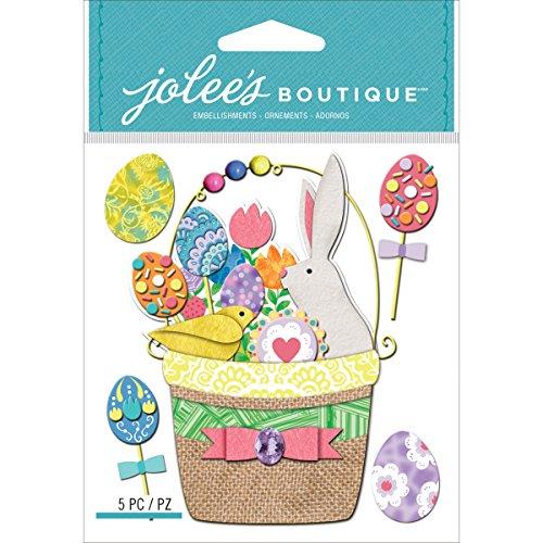 Jolees Boutique Dimensional Stickers, Easter Basket (Online Easter Baskets)