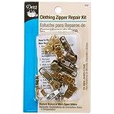 Dritz - Kit de reparación de Cierre para Ropa, Kit de reparación de zíper para Ropa, como se Muestra, Clothing Zipper Repair Kit, 1
