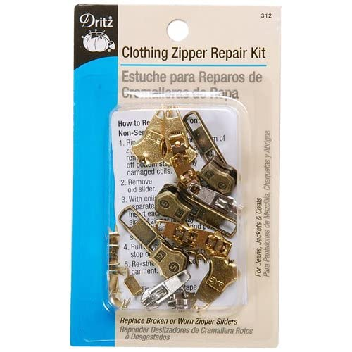 Dritz Zipper Repair Kit-Clothing