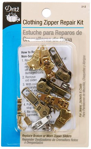 Dritz 312 Clothing Zipper Repair Kit