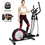SNODE-Elliptical-Machine-Trainer-Magnetic-Elliptical-Exercise-Training-Machine-with-Cross-Crank-and-LCD-MonitorModel-E20-New