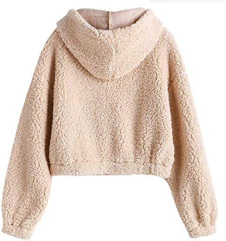 Brown fluffy jacket _image2