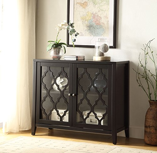 comfortscape-two-door-wooden-console-table-for-entryway-with-shelves-black