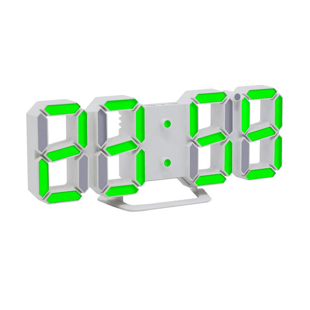 Clocks Modern Digital LED Table Desk Night Wall Alarm Clock Alarm Clock Digital Clock Display Home Garden Kitchen Accessories Clocks Alarm Electronic