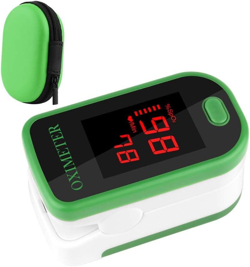 Dafengchui RZ Dedo pulsioxímetro de Dedo monitores de Ritmo cardíaco pulsioximetro Saturometro Hogar Salud oxímetro de Pulso