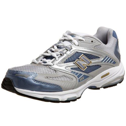 New Balance Women's WR859 Running Shoe,Grey/Powder Blue,10 B by New Balance (Image #1)