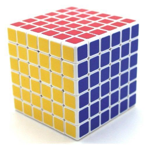 Shengshou Speed Cube Professional Speed Cube Twisty Magic Puzzle, White