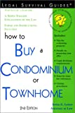 How to Buy a Condominium or Townhome, Irwin E. Leiter, 1572481641