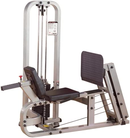 Body-Solid ProClubLine Leg Press Machine with 210-Pound Weight Stack SLP500G2