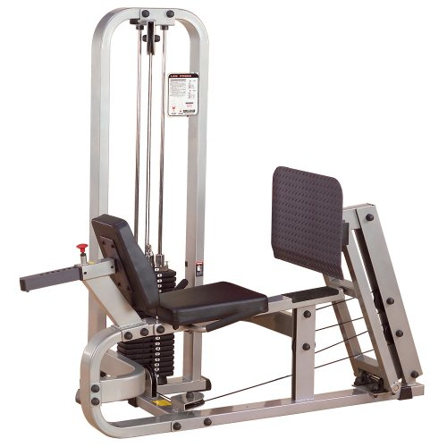 Body Solid Pro Club Line SLP500G2 Leg Press with 210-Pound Weight Stack by Body-Solid