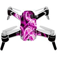 Skin For Yuneec Breeze 4K Drone – Pink Flames | MightySkins Protective, Durable, and Unique Vinyl Decal wrap cover | Easy To Apply, Remove, and Change Styles | Made in the USA