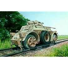ITALERI 1:35 Military Vehicle 6456 Autoblinda AB-40 Ferroviaria by Italeri