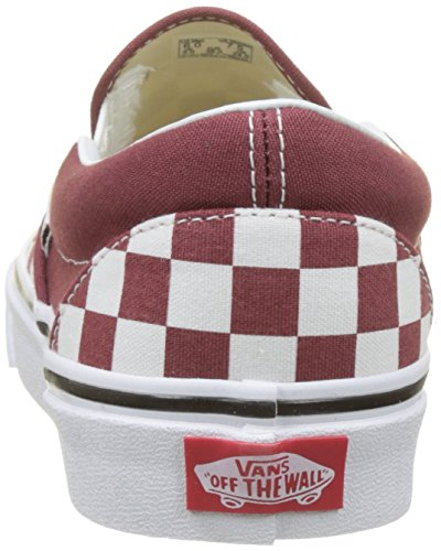 Vans Classic Slip-On Checkerboard Womens Slip On (Checkerboard) Apple Butter/True White 9EOrLQHRi