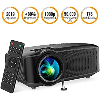 Amazon.com: 2019 Upgraded Mini Projector, DBPOWER 2800Lux ...