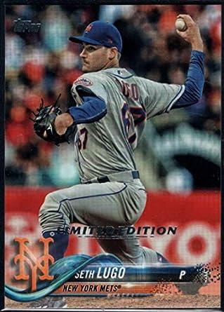 Amazon.com: Baseball MLB 2018 Topps Limited #640 Seth Lugo ...