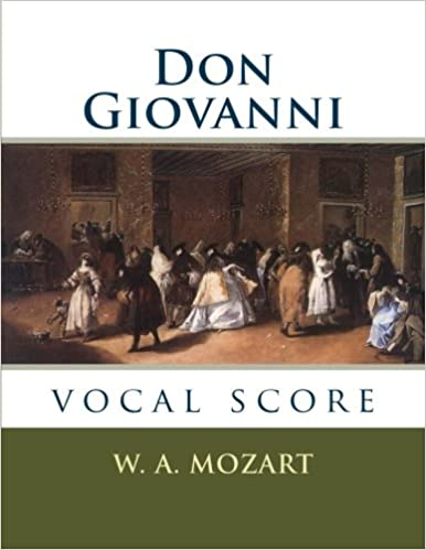 Italian only Vocal Score Clothbound Don Giovanni