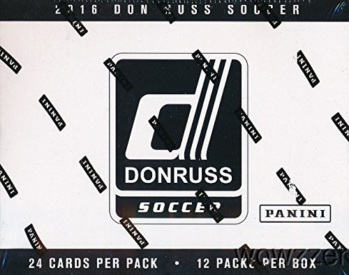2016 Panini Donruss Soccer EXCLUSIVE ENORMOUS Factory Sealed JUMBO FAT PACK Box with 288 Cards including 12 SPECIAL SWIRLORAMA PARALLEL! Look for Cards & Autographs from Lionel Messi, Ronaldo, & More! - Soccer Hobby Box