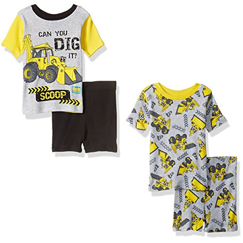 bob-the-builder-boys-4-piece-pajamas-set-4t-scoop-yellow-grey