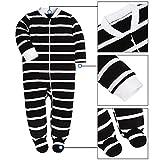 Baby Cotton Cartoon Pajamas Front Zip Baby Girls