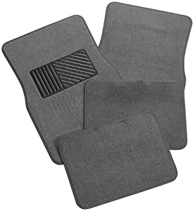 Amazon.com: Rubber Queen 70544 Carpeted 4 Piece Mat With