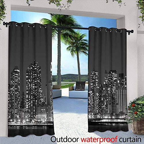 (Exterior/Outside Curtains,Mega Gorgeous seamless patchwork pattern from colorful Moroccan Portuguese tiles Azulejo ornaments Can be used for wallpaper pattern fills web page background surface textur)