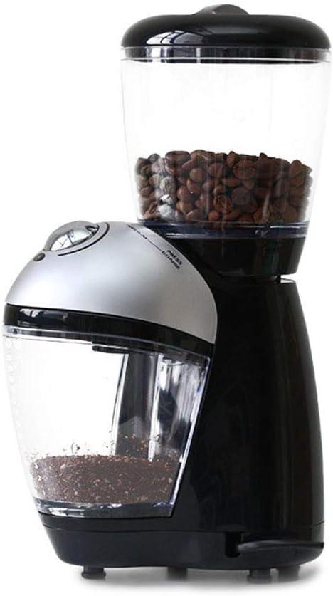 ITGGB- Máquina de café exprés con Ajuste de Ocho velocidades y Cuchilla Plana Rectificadora de Discos Cafetera doméstica Tipo de Disco eléctrico Molinillo de café, 200W: Amazon.es: Hogar