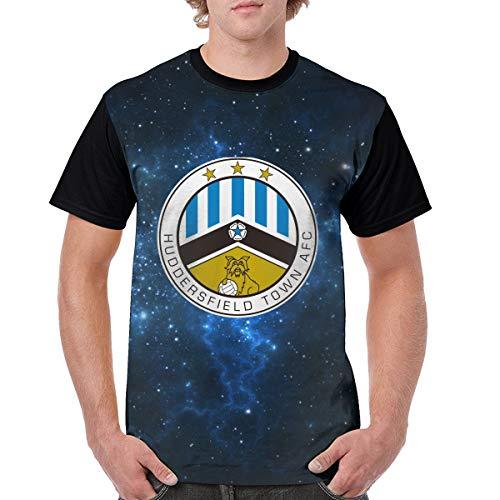 Buecoutes Men's Tee Premier League Badge Short Sleeve Black 31