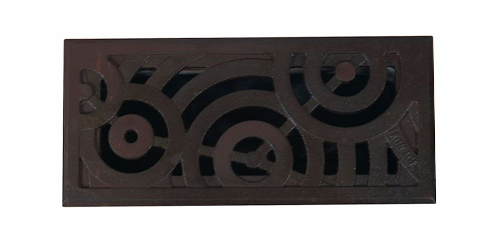 Iron Age Designs Oblio Home Register Cover - Multiple sizes and finishes