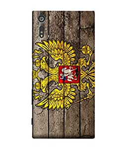ColorKing Football Russia 22 Multi Color shell case cover for Sony Xperia XZ